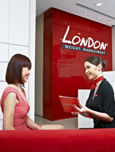 London Serving Customer